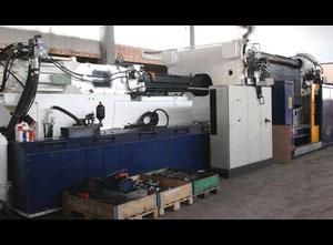 Husky E 2000 - RS 135/115 + Robot Spritzgießmaschine