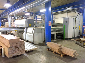 Angular panel saw BIESSE SELCO WNAR 600 SS with automatic stacker