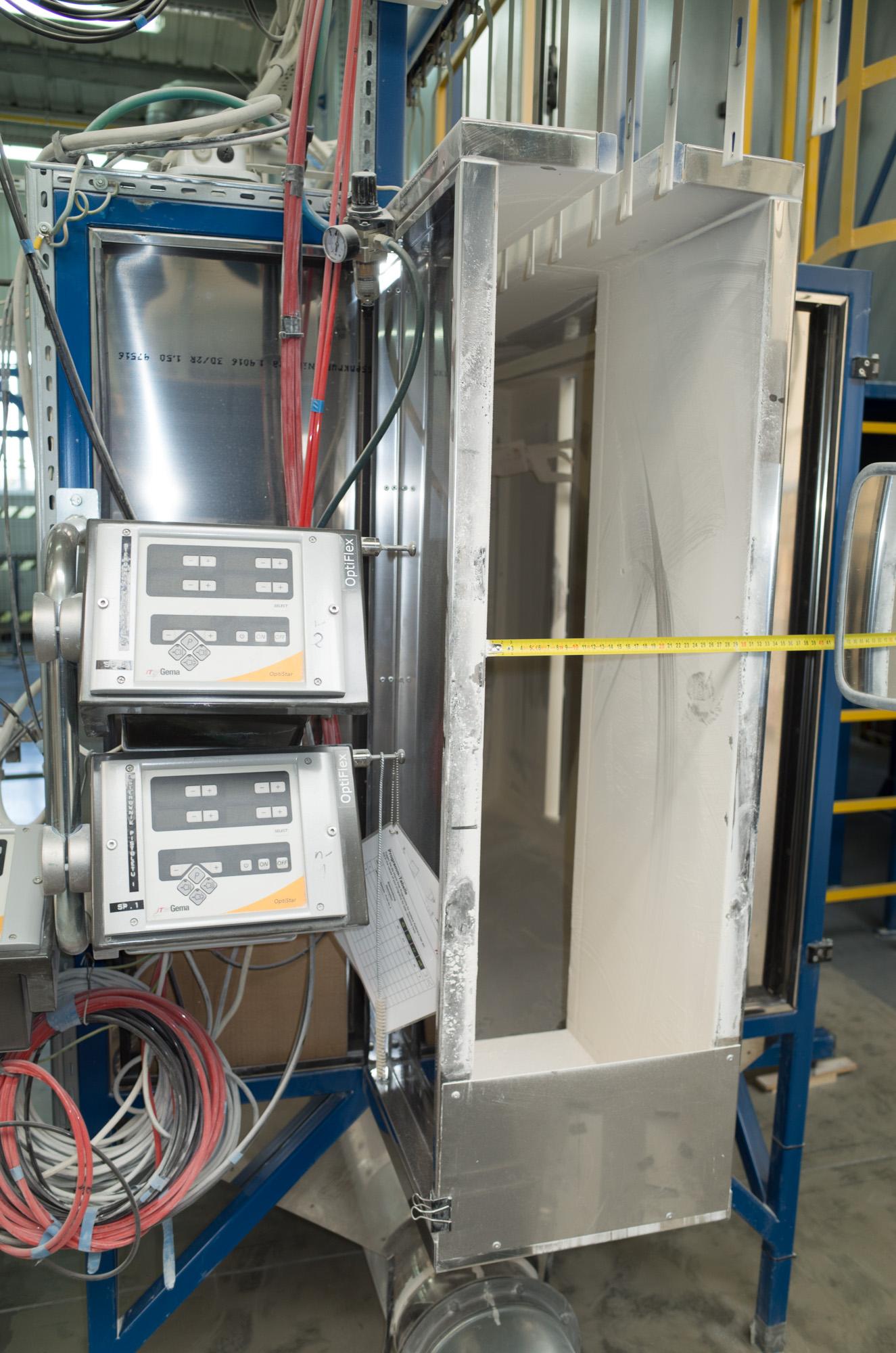 Cabina di verniciatura ekomal macchinari usati exapro for Affitti di cabina okanagan bc