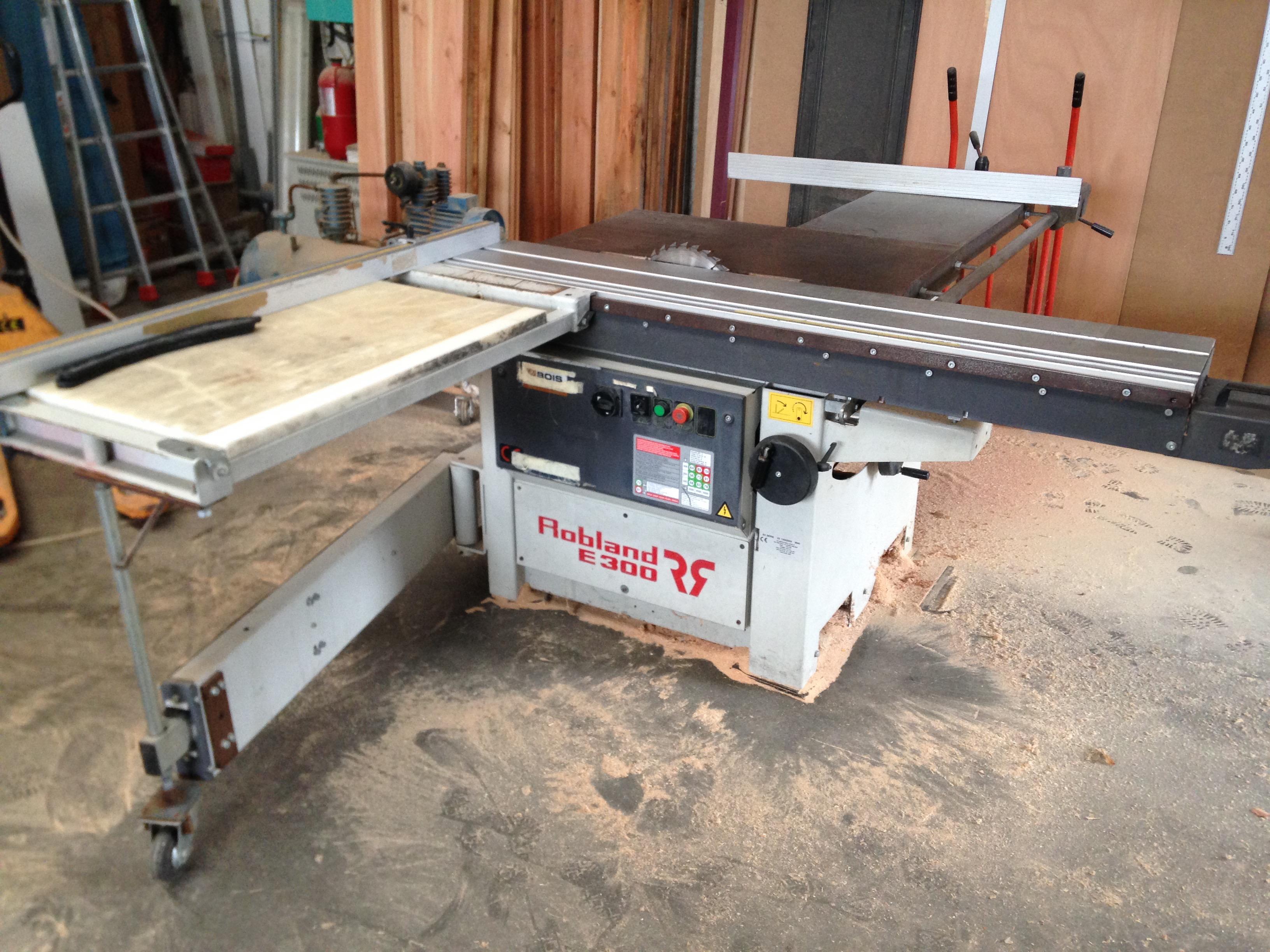 Robland E300 Sliding Table Saw Exapro