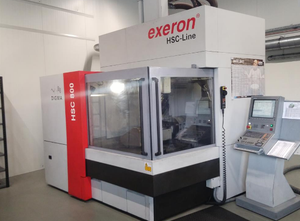 Exeron HSC 800 - 5 Achsen Machining center - 5 axis