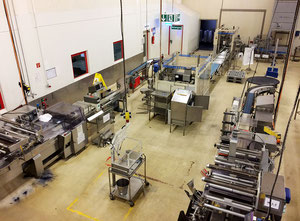 Used San Cassiano, Rademaker, Mecatherm - Complete bread production line