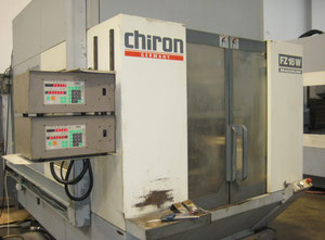 Chiron FZ18W 4 axis vertical machining center - twin pallet