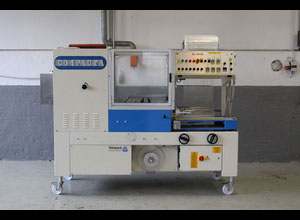 Used Compacta SL 5035 Automatic L-bar sealer with integrated shrink tunnel
