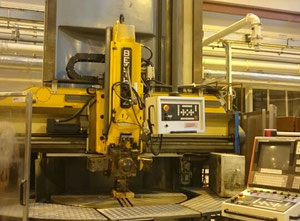Berthiez BMF 160 vertical turret lathe with cnc
