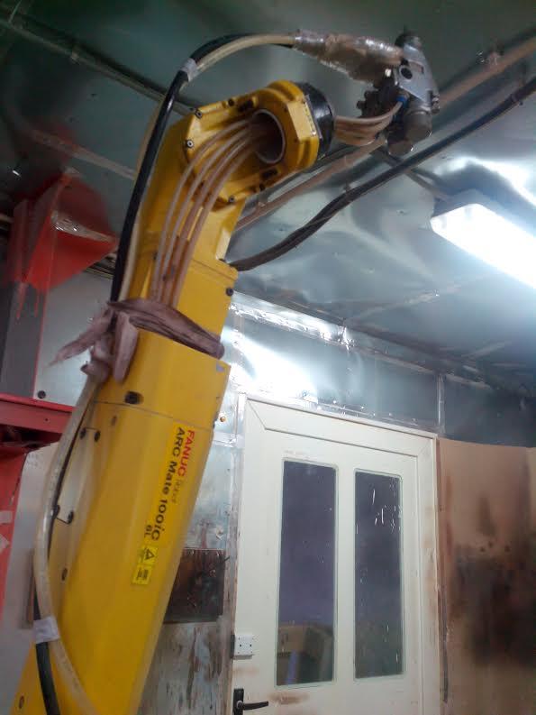 Fanuc Arc Mate 100 Ic 6l Laser Cutting Machine Exapro