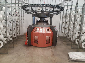 Canmartex 4D96 Circular knitting machine