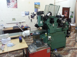 Halm JP-TWOD-6D Envelopes making and printing machine