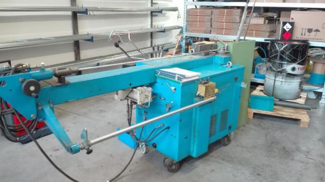 Curvadora de tubo tracto technik tubomat 642 maquinas de for Curvadora de tubos segunda mano