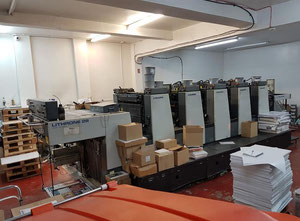 Komori L528 5 Farben Offsetdruckmaschine