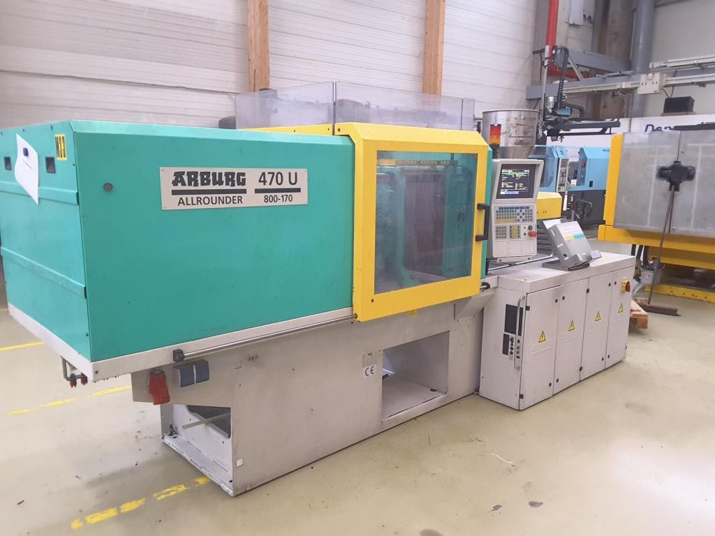 Similar products to Arburg 470 U - 800 - 170 Injection moulding