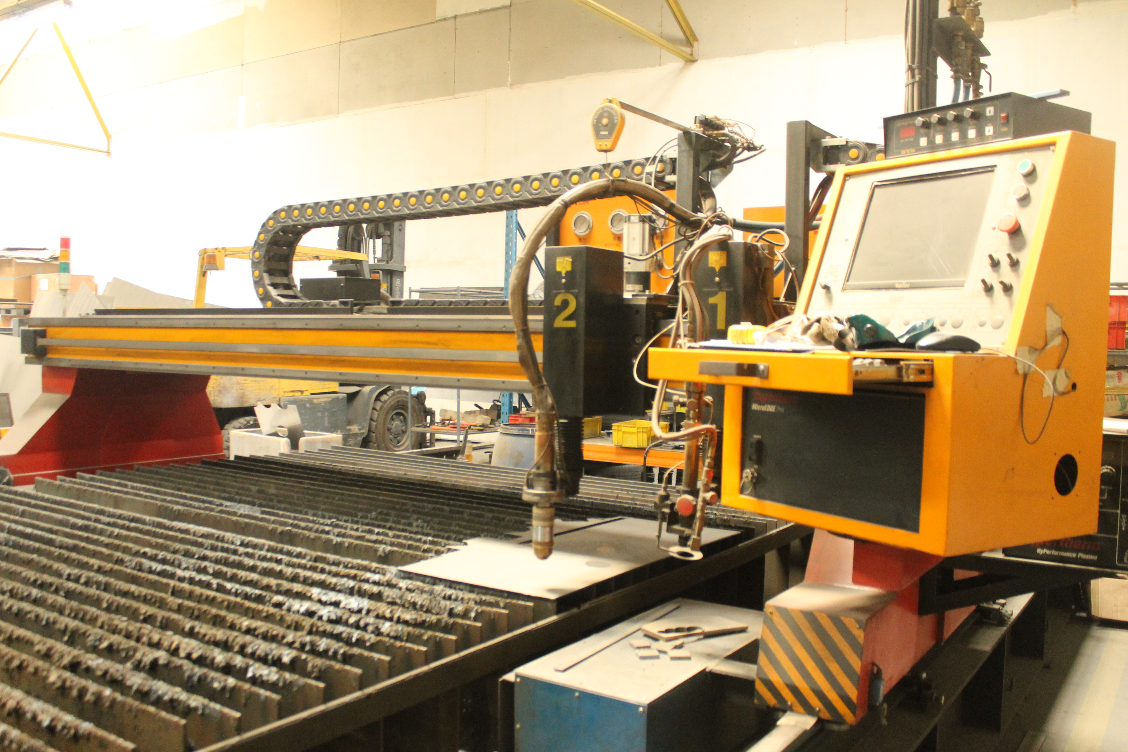 Used Tayor Hypertherm Controller Cnc Sg4000 Exapro