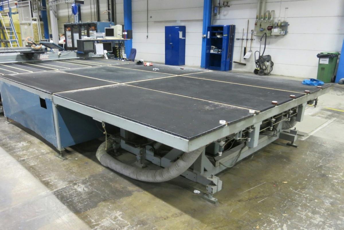 LISEC BTH Glasschneidemaschine / Glaskantenbearbeitungsmaschine