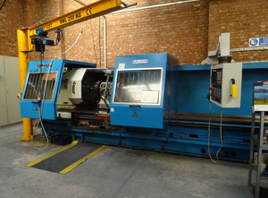 Poreba TRP110 heavy duty lathe