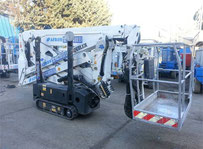 Oil Steel 1715 twin Electric forklift