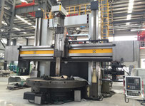 CNC Vertical turning machine with C-axis and milling spindle