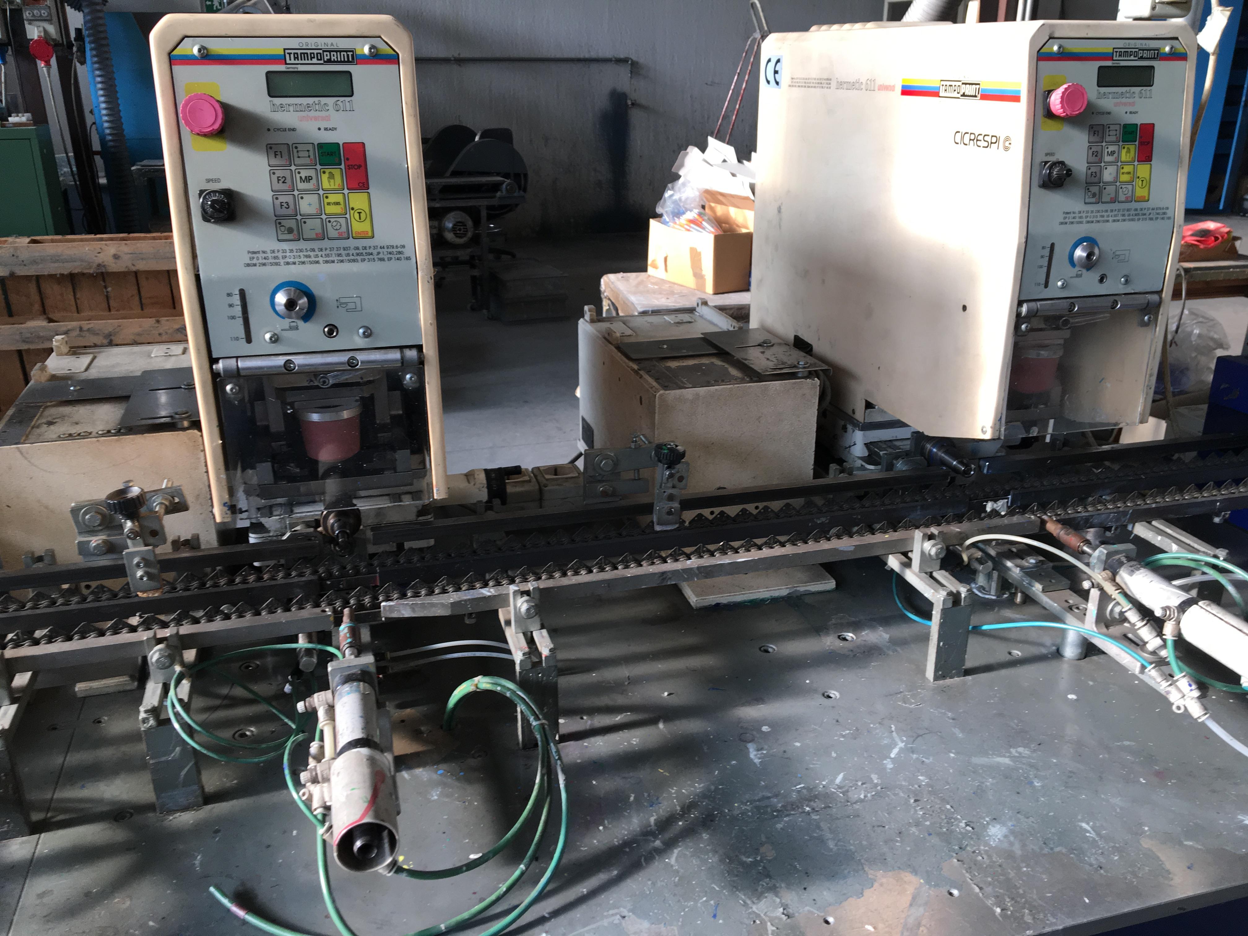 Gpe Ardenghi Gpe 24 2 Pad Screen Printing Machine Exapro
