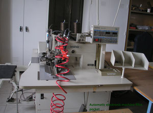 AUTOMATIC ELECTRONIC FILLET POCKET MACHINE