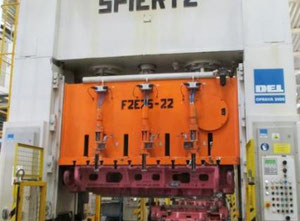 Spiertz F2E 25X2,2 metal press