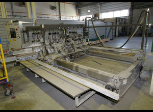 SCHIATTI BFT 12 Glass bevelling machine doublesided