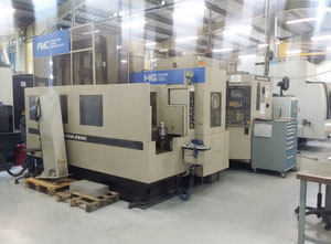 Flexible cell Horizontal CNC Hitachi Seiki HG 400 III 5 axes