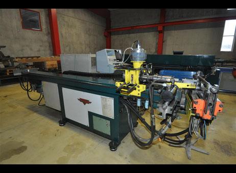 Curvadora de tubo herber abm 40 cnc maquinas de segunda for Curvadora de tubos segunda mano