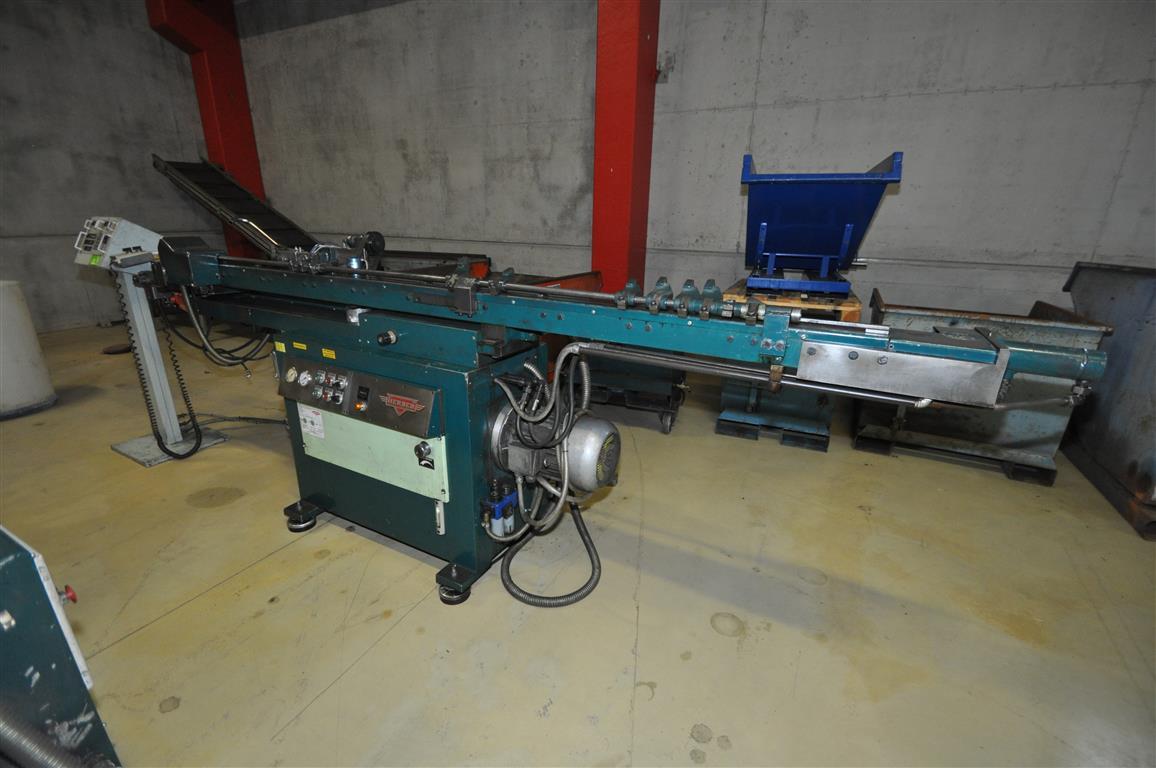 Curvadora de tubo herber sbm 40 asv maquinas de segunda for Curvadora de tubos segunda mano