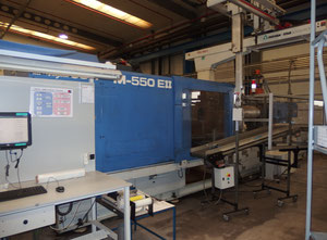 JSW JM 550 E-II Injection moulding machine