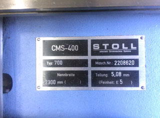 Stoll CMS 400 & ANVH-BL P70525001