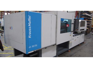 Krauss Maffei AX 180 - 750 Electric Injection moulding machine (all electric)