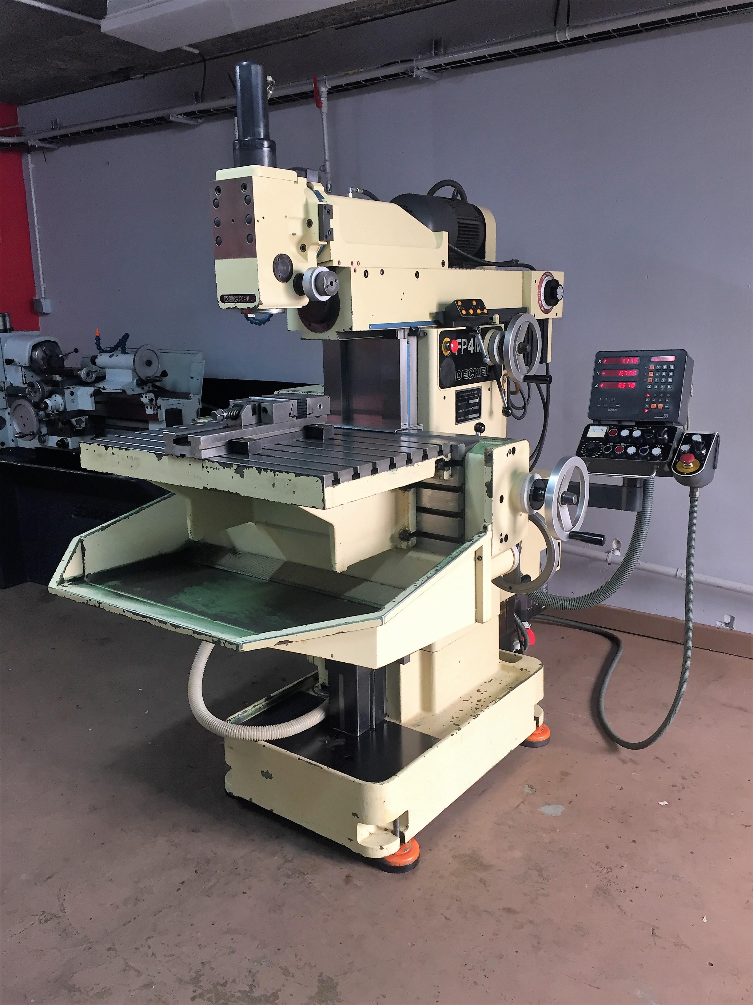 Deckel FP4MK universal milling machine - Exapro