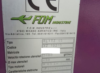 Fom Industries XZ 10215 P70528011