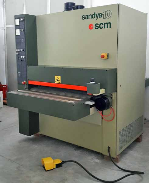 SCM 10 RRR 110 Wide belt sander - Exapro