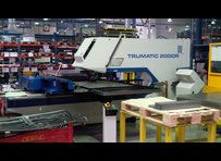Trumpf TRUMATIC 2000R Punching machine / nibbling machine with CNC