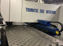 Trumpf 260 Rotation Punching machine / nibbling machine with CNC