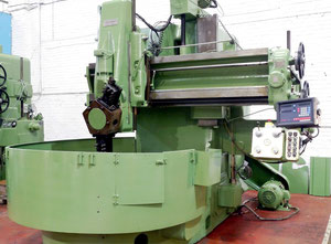 Webster & Bennett EM 72 vertical turret lathe with cnc