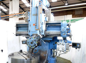 WEBSTER & BENNETT EM 48 vertical turret lathe with cnc