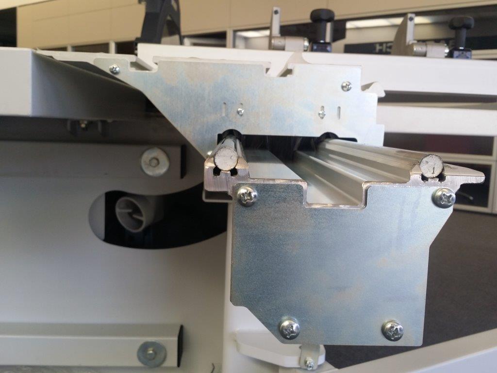 Griggio quadra 400 sliding table saw exapro for Table titanium quadra 6