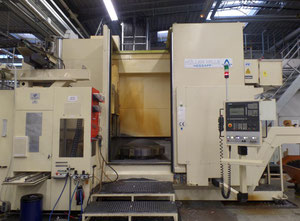 Hessapp DV 120 vertical turret lathe with cnc