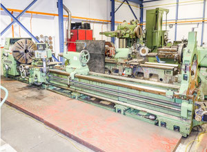 WOHLENBERG V1000 heavy duty lathe w/ digital readout