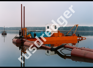 Ural Hydromechanical Plant Dredger 400 industrial pump