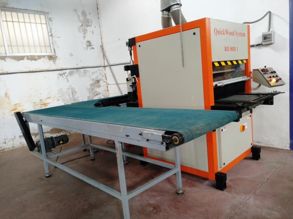 Quickwood RO 800 - 1T Sanding machine - Exapro