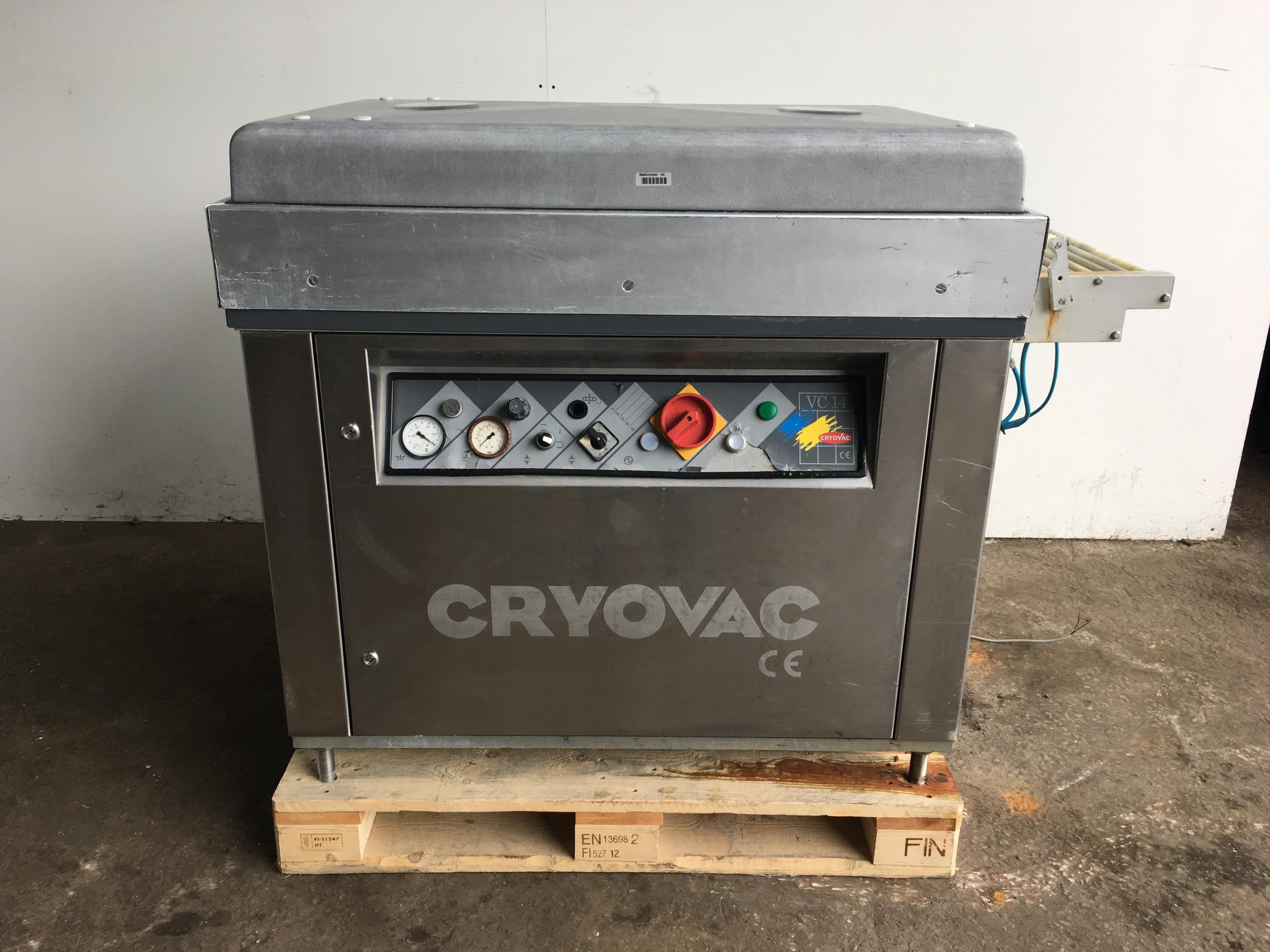 cryovac vc14 shrink wrap machine exapro. Black Bedroom Furniture Sets. Home Design Ideas