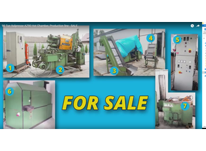 Hot chamber die casting machine Italpresse 90 ton + additional machines