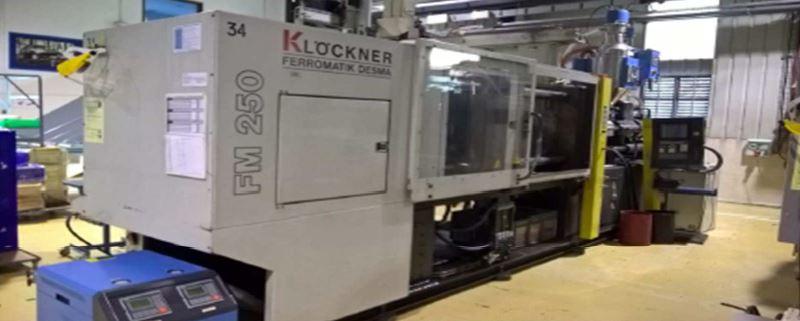 Ferromatik Klockner DESMA-FM 250/175 Injection moulding machine - Exapro