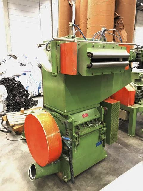 machine de recyclage plastique pallmann pfv200 15 machines d 39 occasion exapro. Black Bedroom Furniture Sets. Home Design Ideas