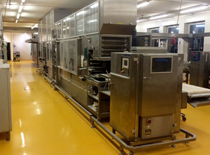 Used Fortuna, Pregesbauer - Complete bun roll production line
