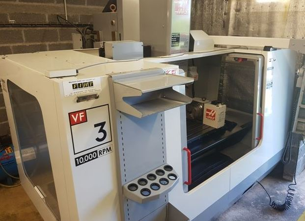 HAAS VF 3 BHE cnc vertical milling machine - Exapro