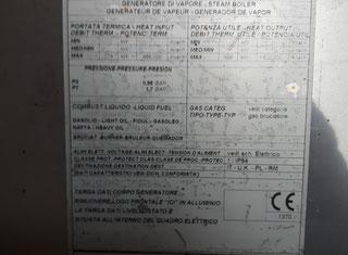 Ici Caldaie Spa BX 600 P70621125