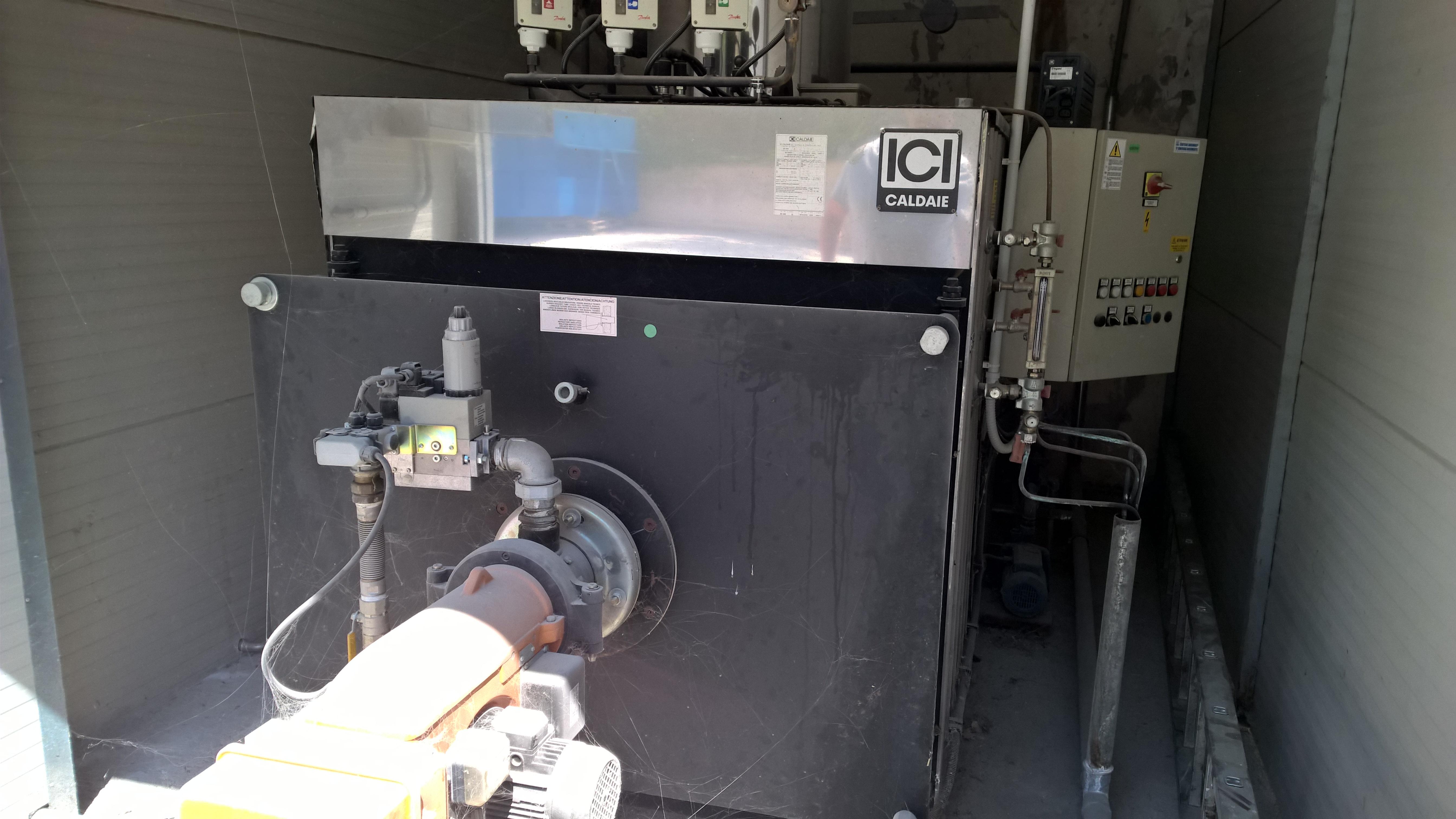 Caldaia usata ici caldaie spa bx 600 macchinari usati exapro for Caldaia a nocciolino usata